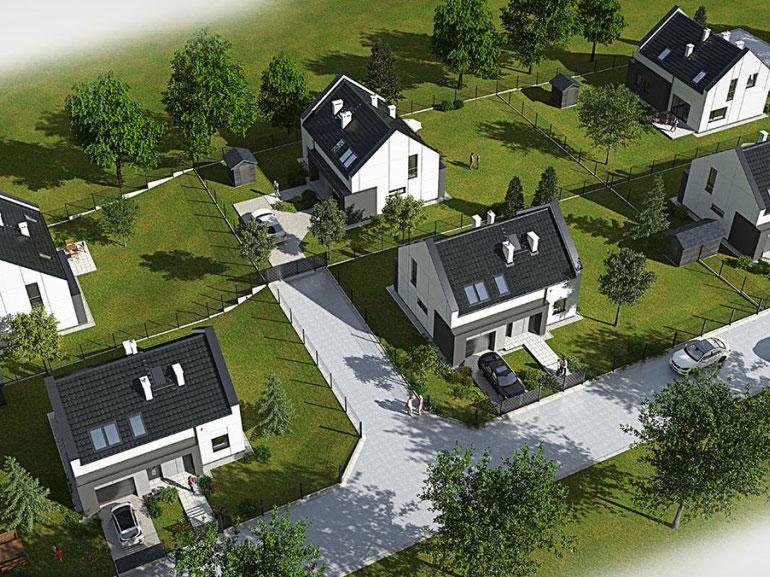domy jednorodzinna w wawrzenku